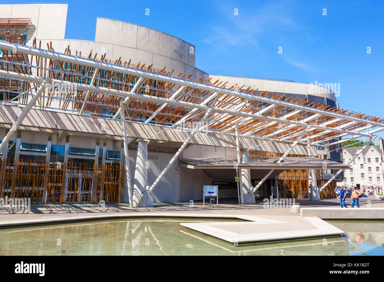 scottish parliament building Edinburgh scotland edinburgh scottish parliament building edinburgh holyrood edinburgh Stock Photo