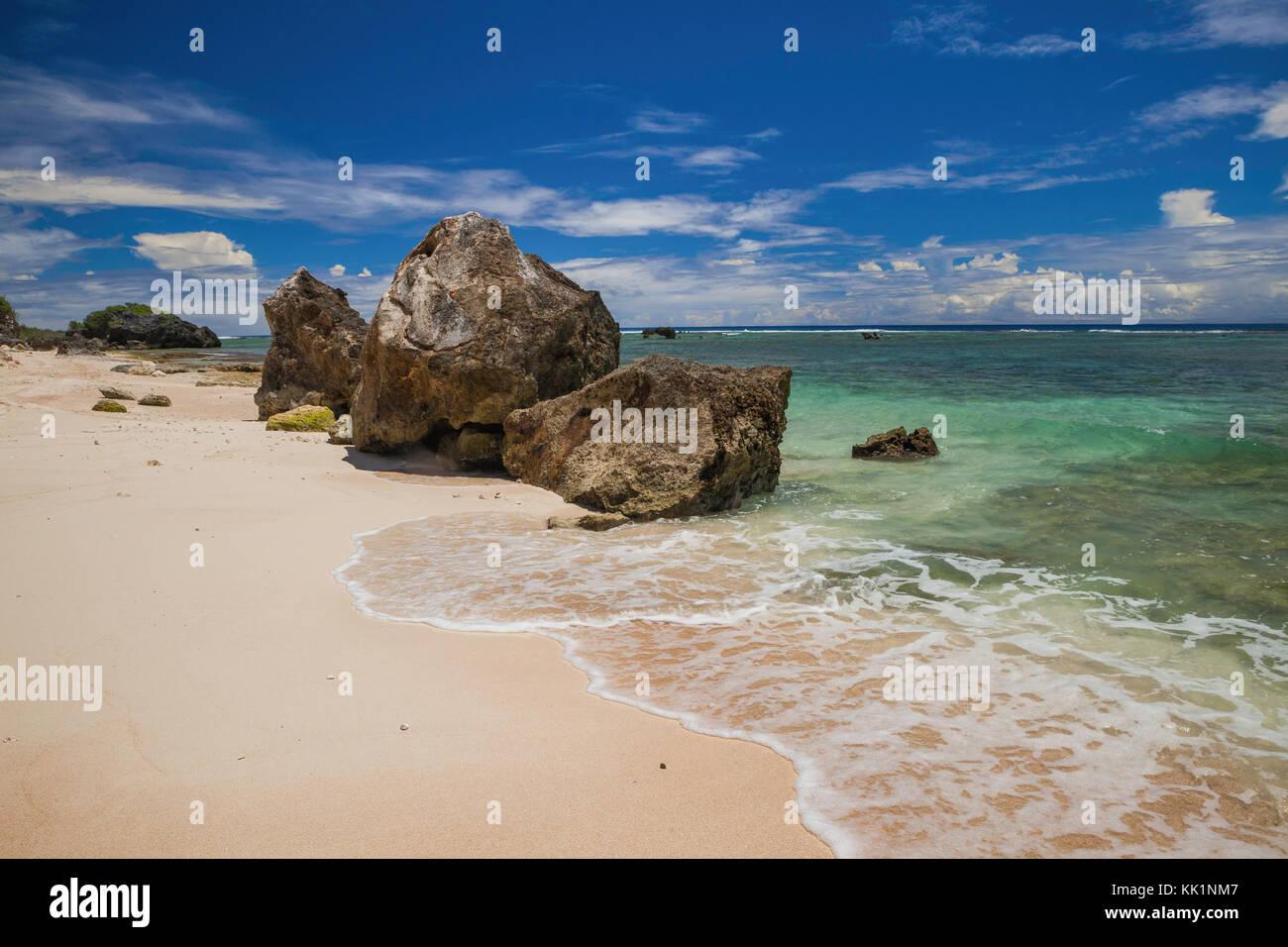 Tarague Beach, Guam - Stock Image