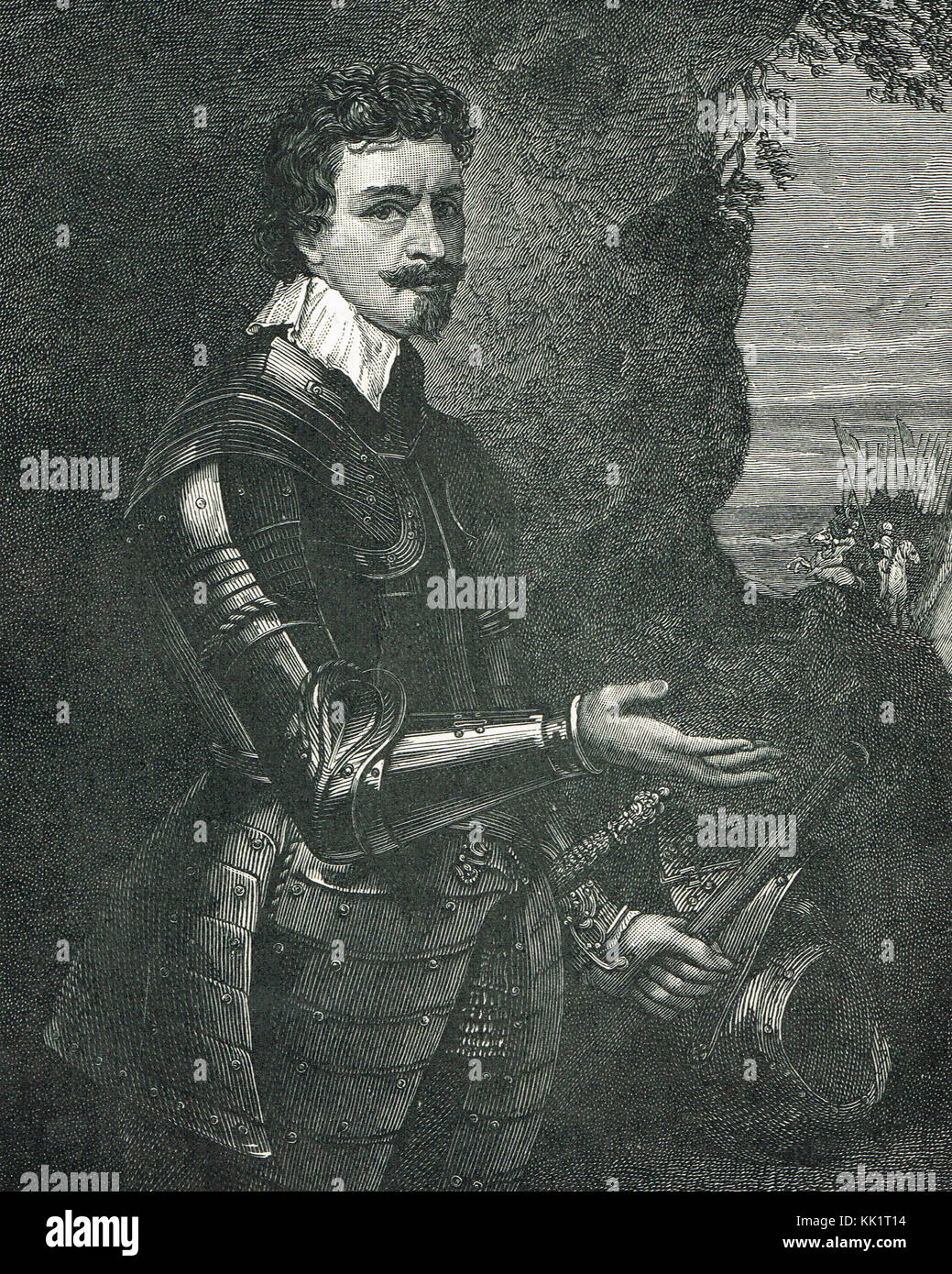 Thomas Wentworth, 1st Earl of Strafford - Stock Image