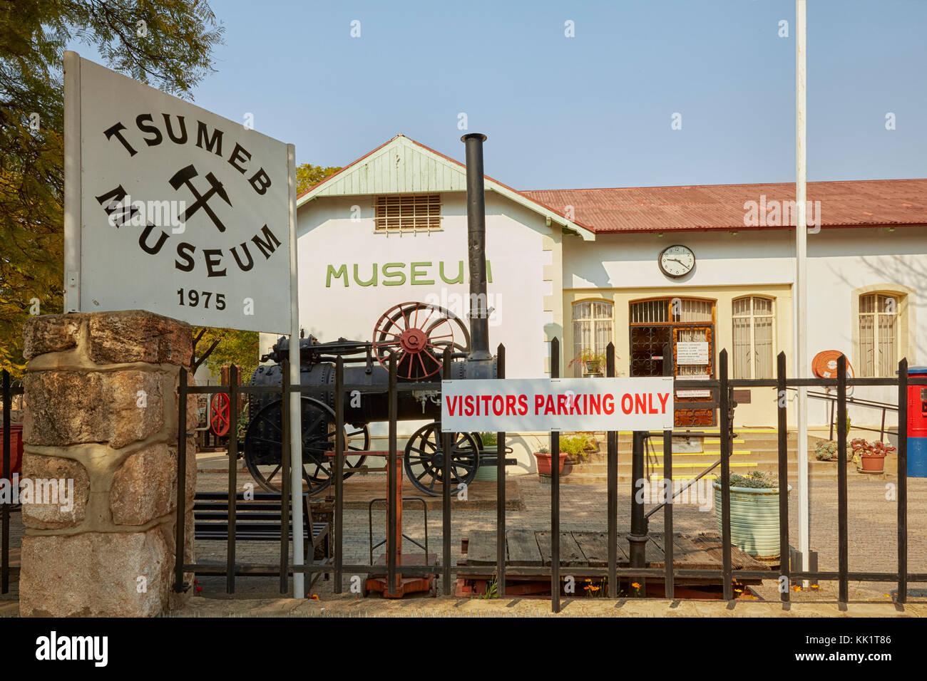 Tsumeb Museum, Tsumeb, Namibia, Africa - Stock Image