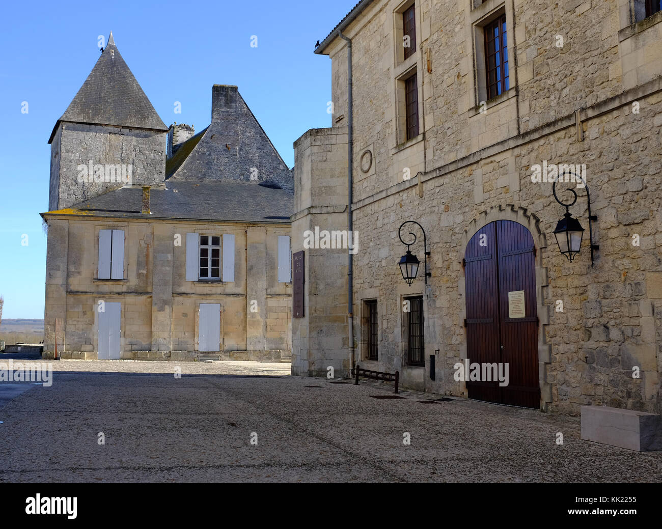 Pons in France's Charente-Maritime - Stock Image