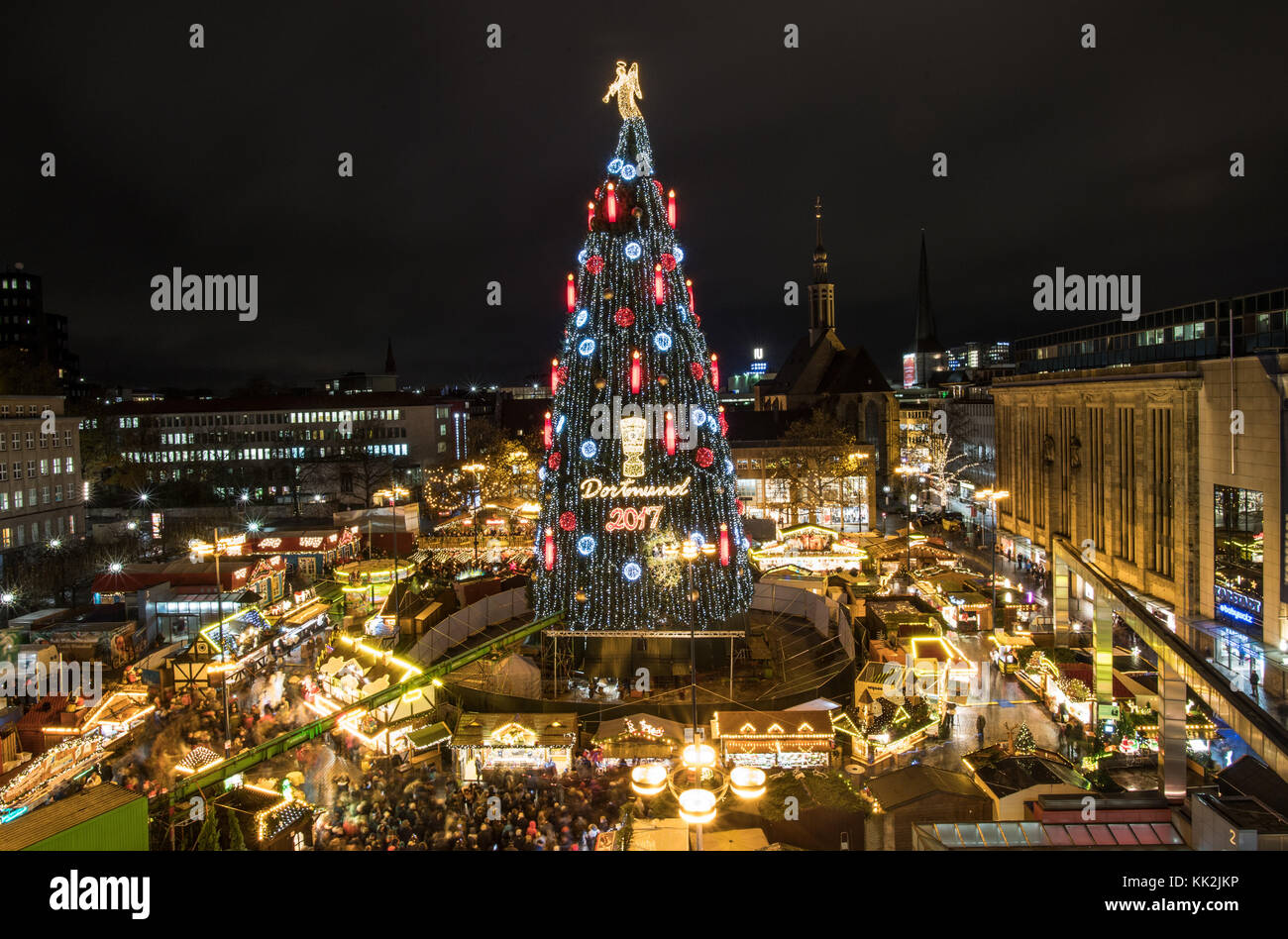 the worlds largest christmas tree according to the organizers shines brightly at the christmas - Worlds Largest Christmas Tree