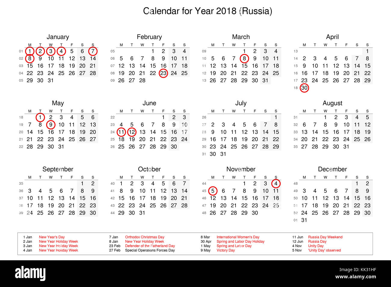 Calendar Russia : Russian holidays in may lifehacked st