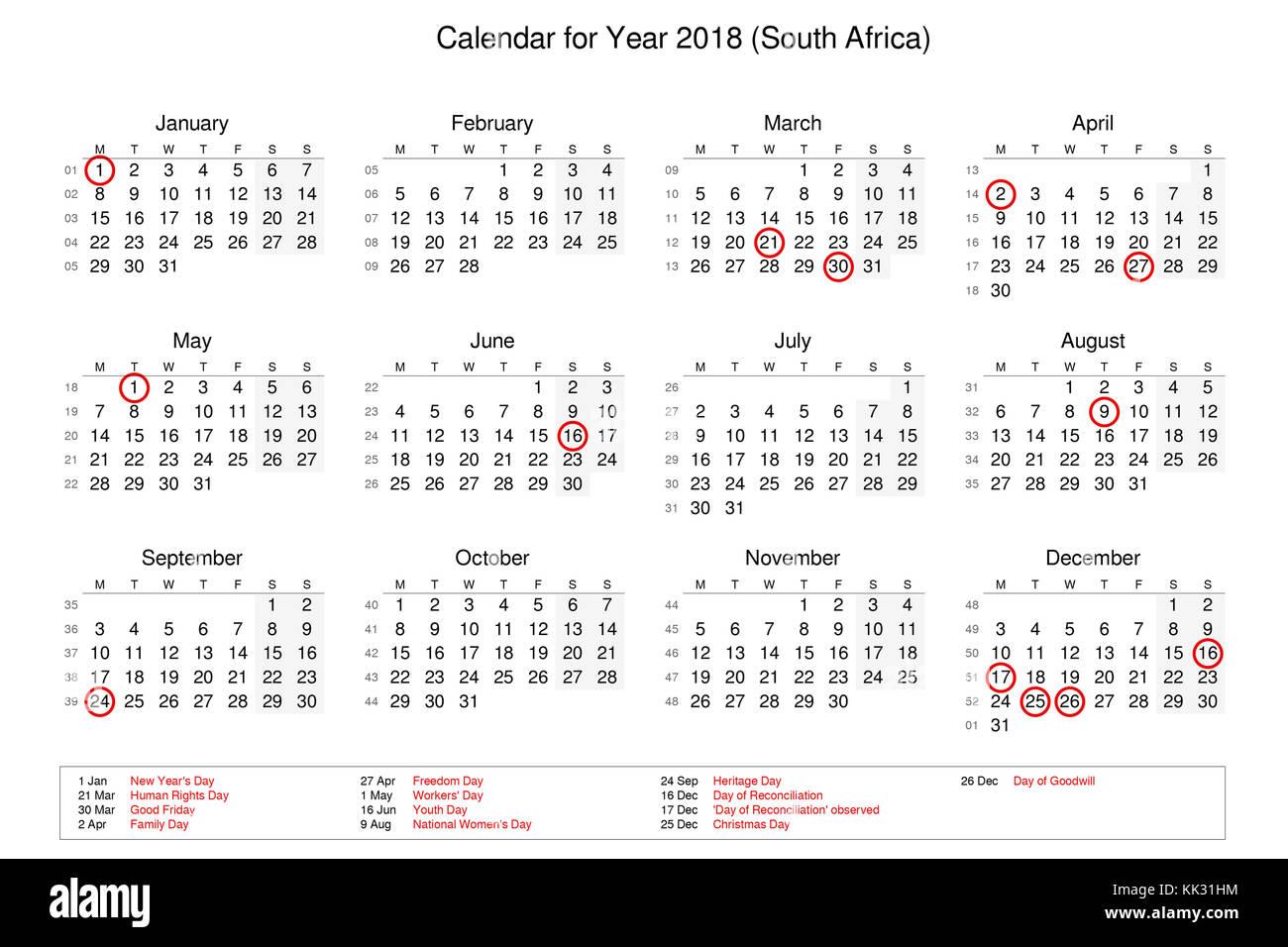 kalender afrika