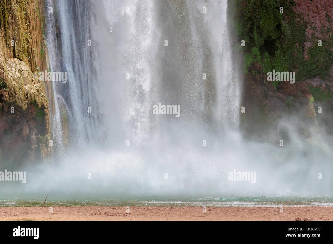 Waterfalls in the Grand Canyon, Arizona - Stock Image