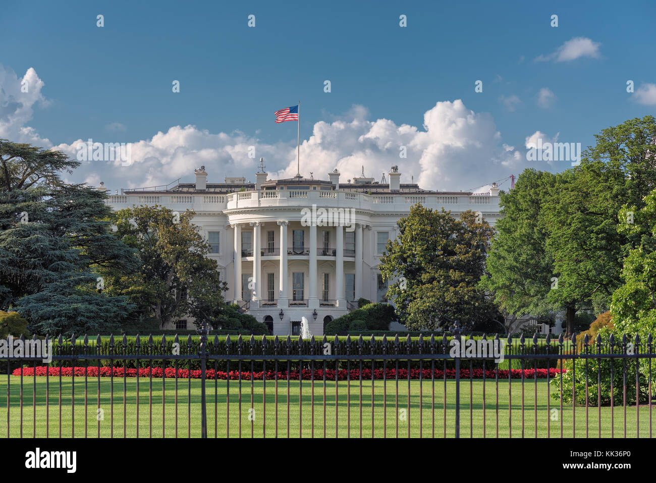 The White House in the United States - Stock Image