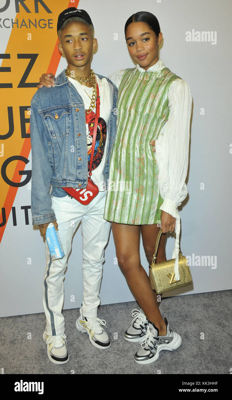 c9f88ed803aa Louis Vuitton Exhibition Opening in NYC Featuring  Jaden Smith Stock ...