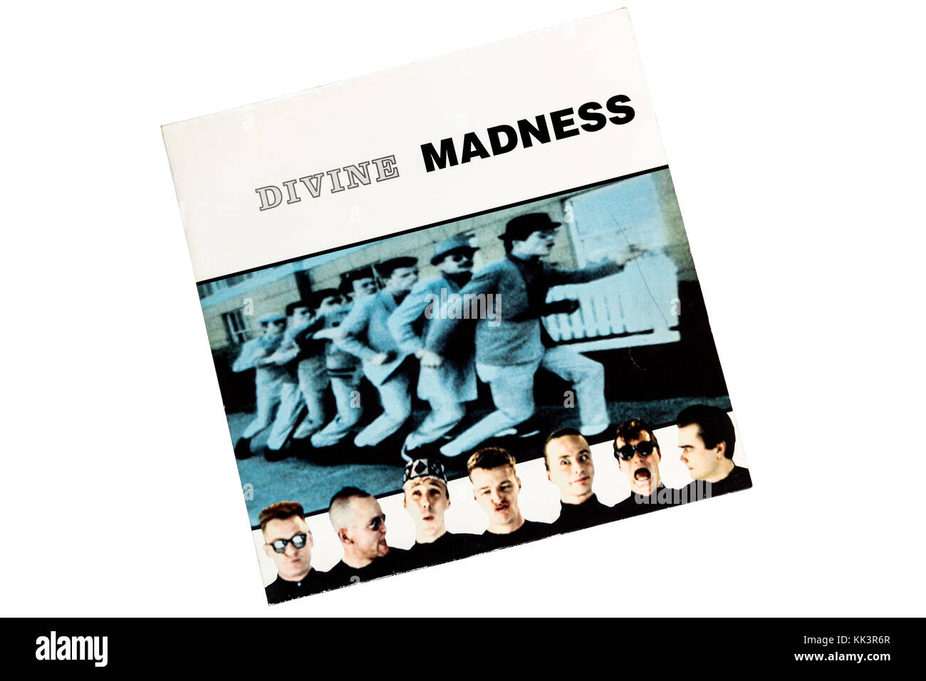 Divine Madness 1992 Album Cover Stretched Canvas Wall Art Poster Print