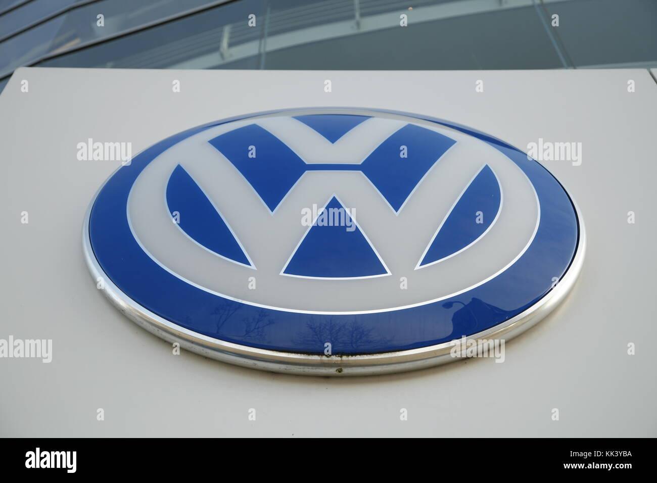 VW Logo - Stock Image