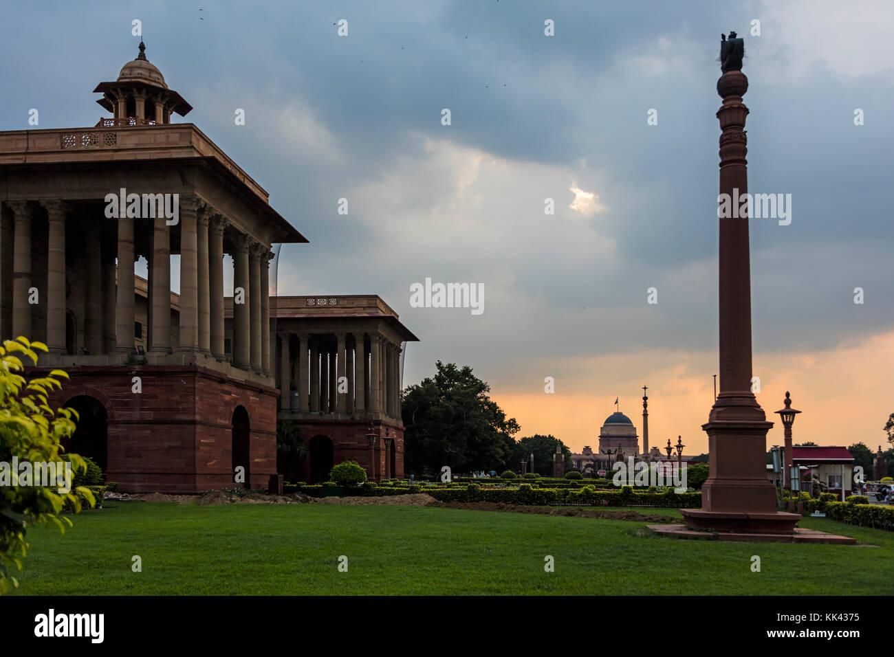 The CABINET SECRETARIAT of INDIA - NEW DELHI, INDIA - Stock Image