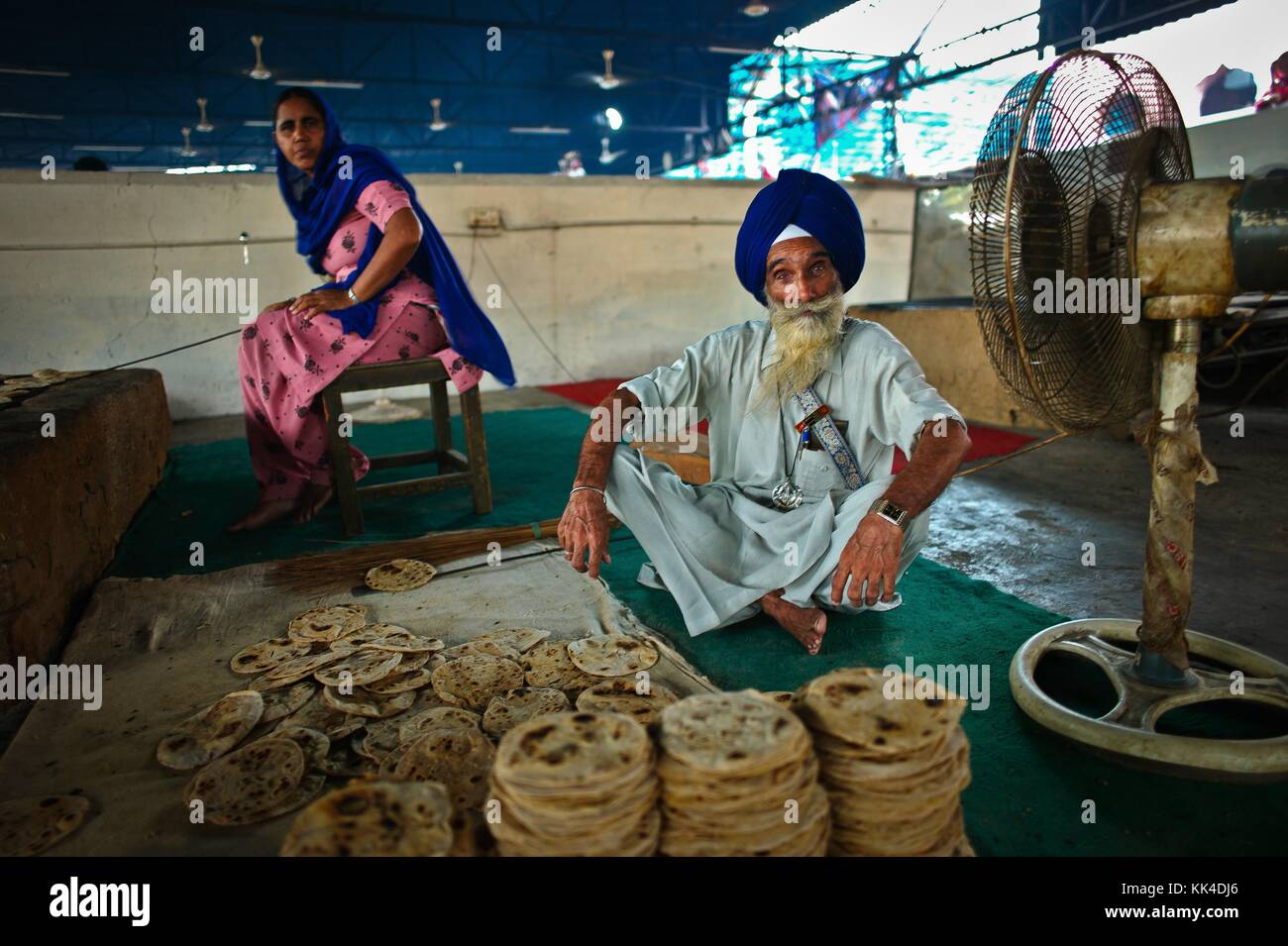 "Amritsar, Golden Temple  visiting the ""turban People of India"" -  03/09/2010  -    -  Golden Temple in Amritsar Stock Photo"