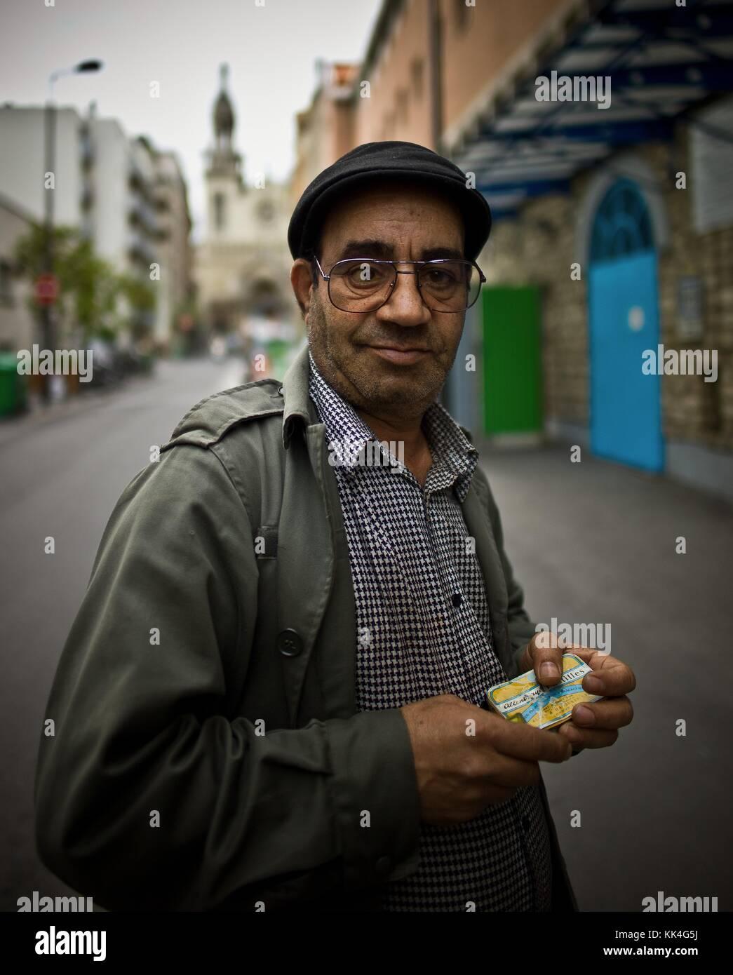 The breadcrumbs, the Emergency's Social Inclusion -  18/06/2012  -    -  Emergency Shelter  - La mie de Pain, Paris Stock Photo