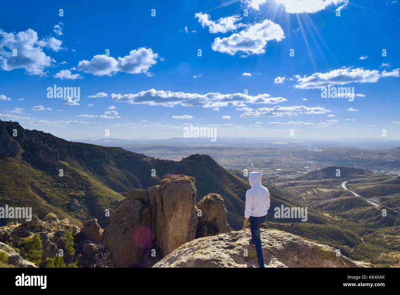 Un precioso lugar para explorar, sin la preocupación de gastar mucho dinero en la excursión... - Stock Image