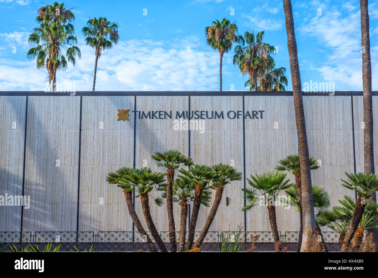 The Timken Museum of Art building at Balboa Park. San Diego, California. - Stock Image
