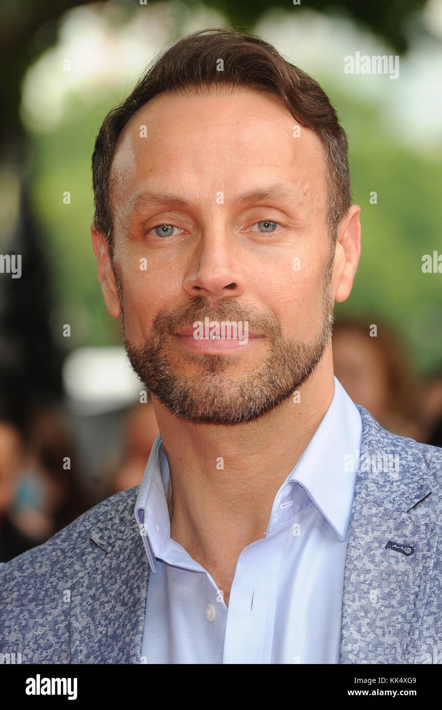 Jason Gardiner attends the UK premiere of Belle at BFI Southbank in London.  5th June 2014 © Paul Treadway - Stock Image