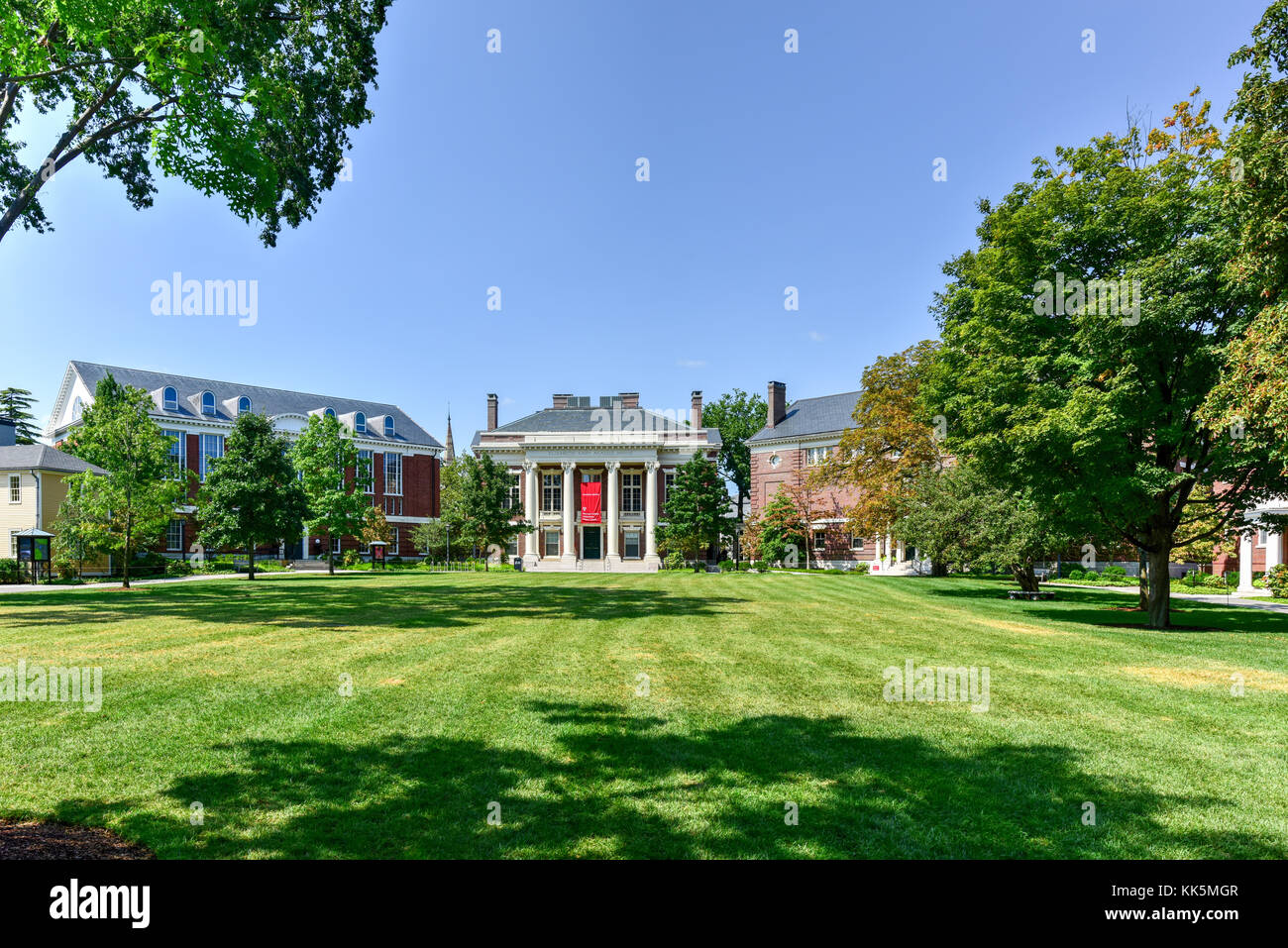Harvard College Admissions Visitor Center in Boston, Massachusetts. - Stock Image