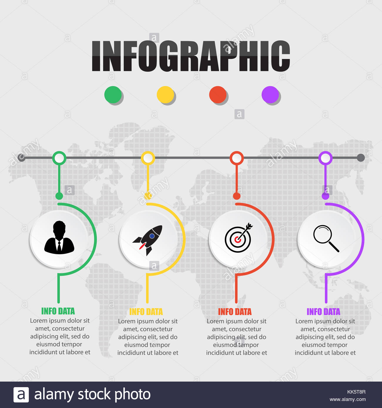Business concept timeline infographic template realistic paper 4 business concept timeline infographic template realistic paper 4 steps infographic vector banner can be used for workflow layout diagram presenta fbccfo Images