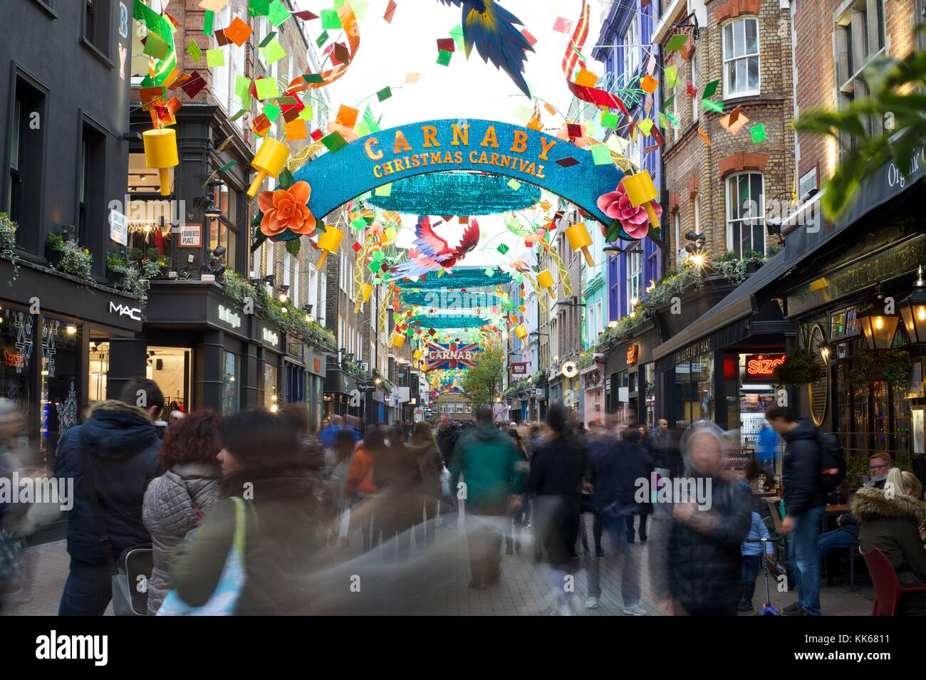 Carnaby Street - Stock Image
