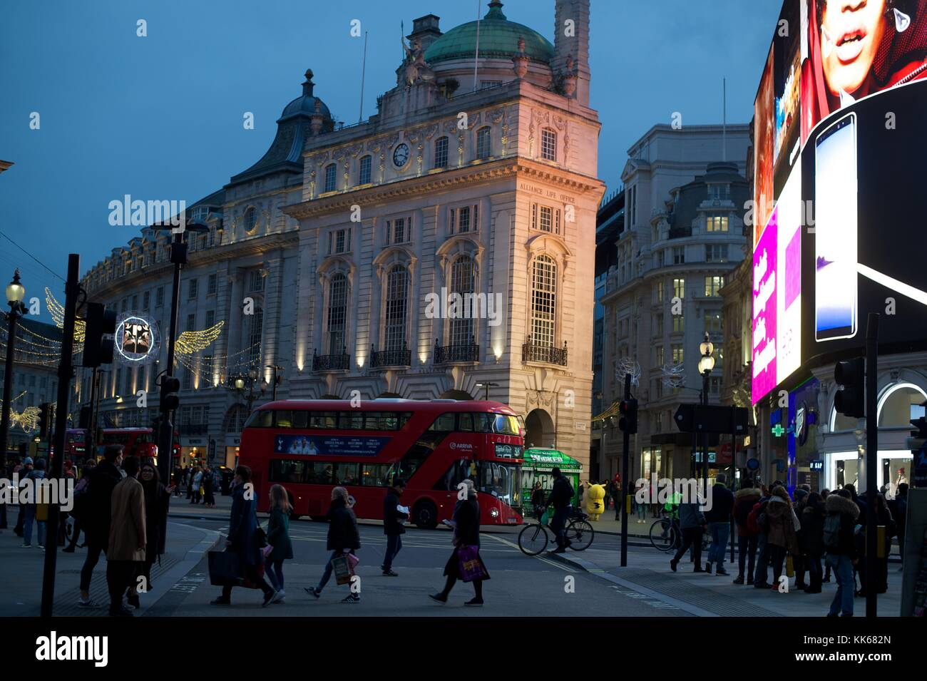 Regent Street, Piccadilly - Stock Image