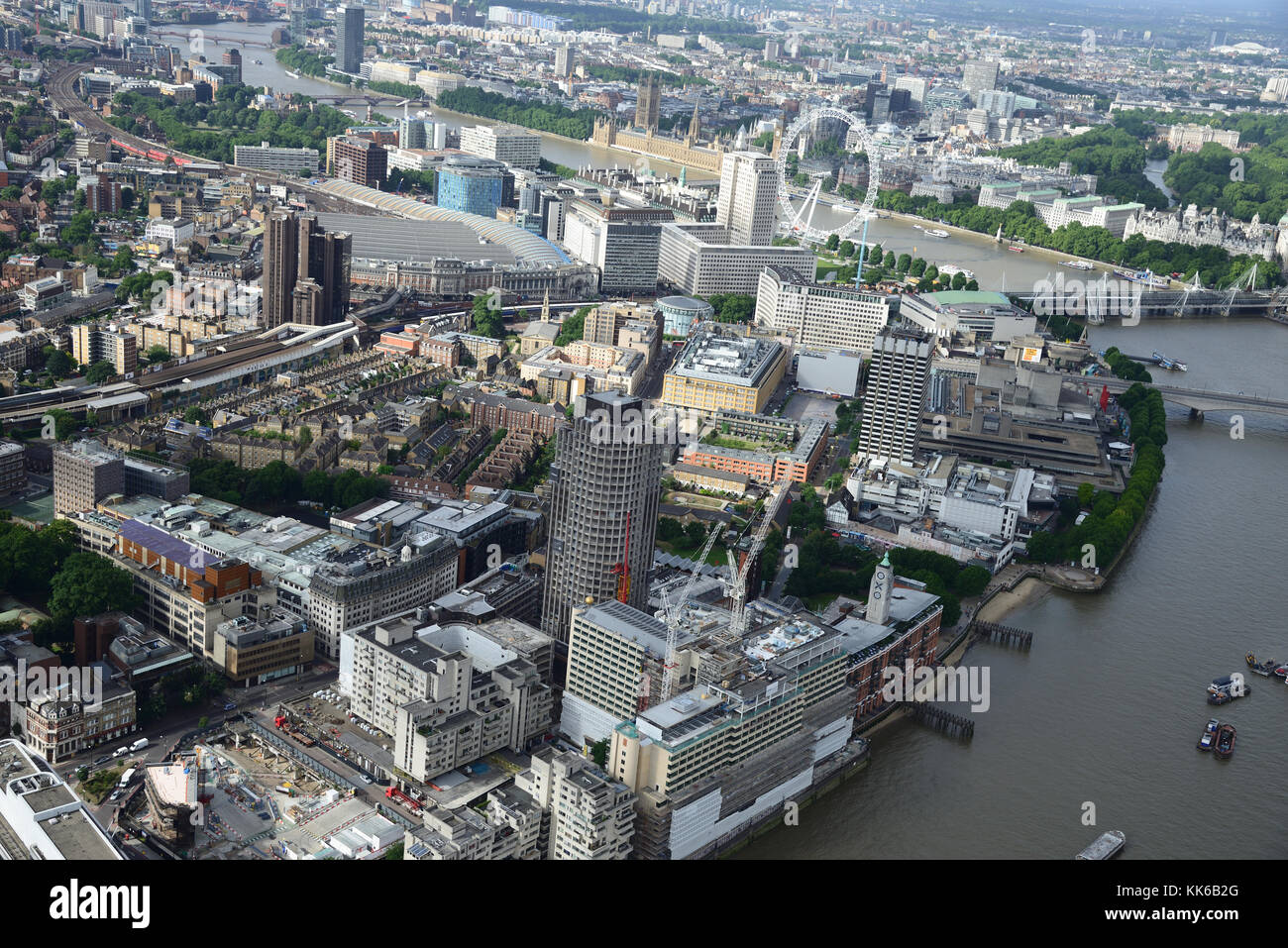 London Aerial Photos - Stock Image