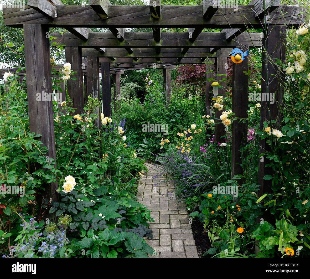 Delicieux Wood, Wooden,arbor, Pergola, Garden, Entrance, Separation, Separating,