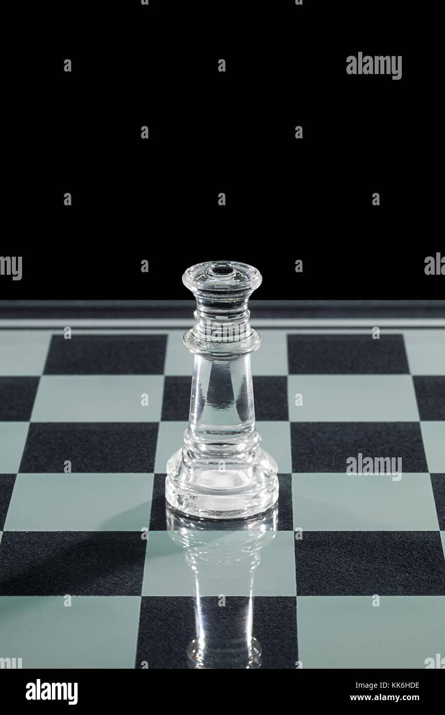 glass rook chess piece Stock Photo: 166717194 - Alamy