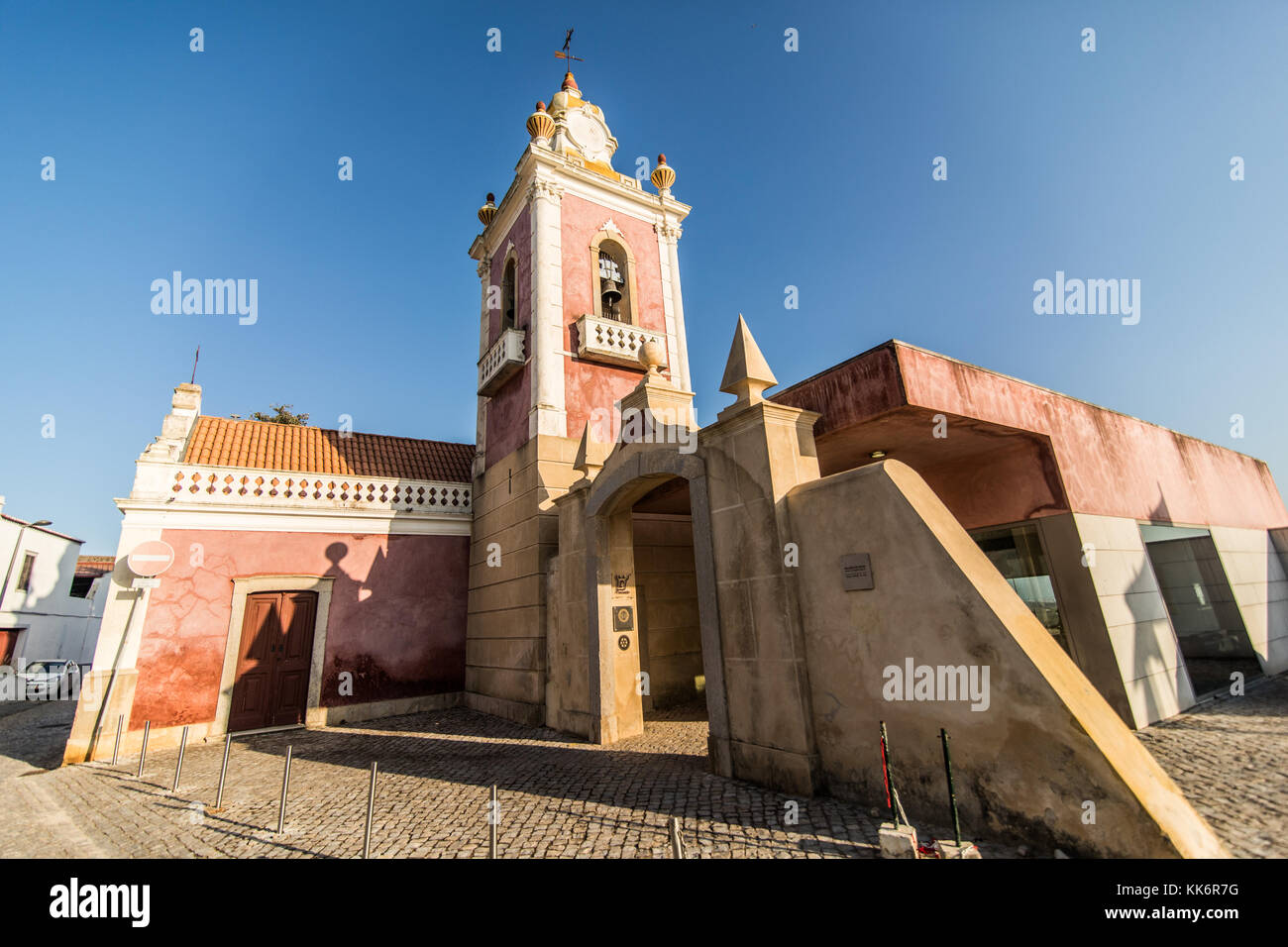 Estoi, Portugal - July, 2017: Estoi Palace and garden Estoi Algarve Portugal - Stock Image