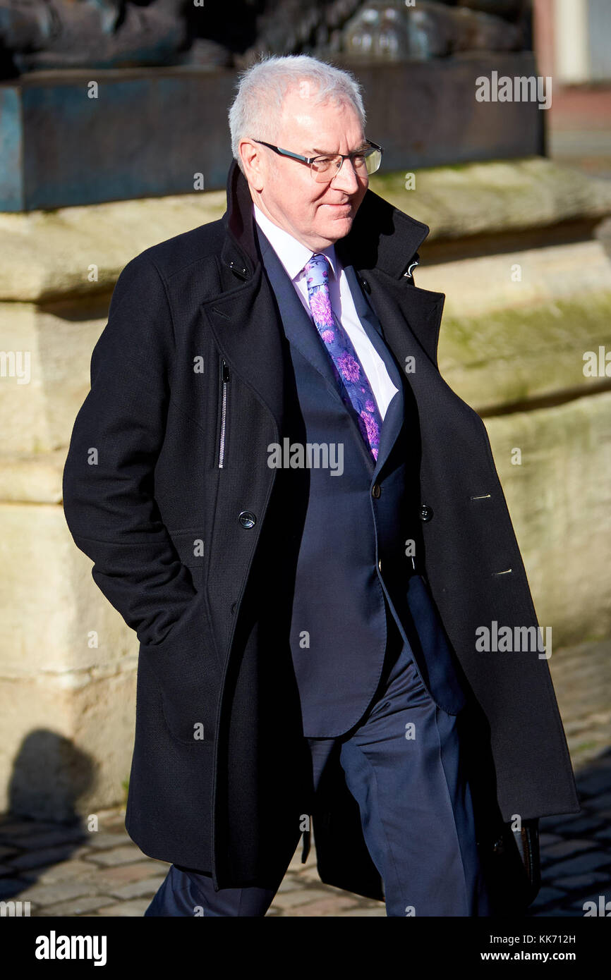 Steve Robertson, chief executive officer of Thames Water plc, at Aylesbury Crown Court. The utility was fined £20m - Stock Image