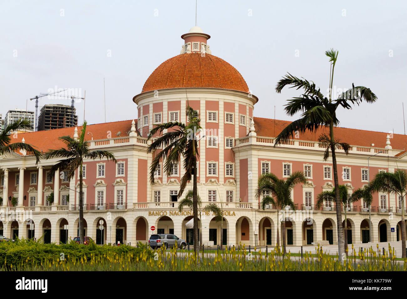 National bank of Angola, Luanda Angola Stock Photo