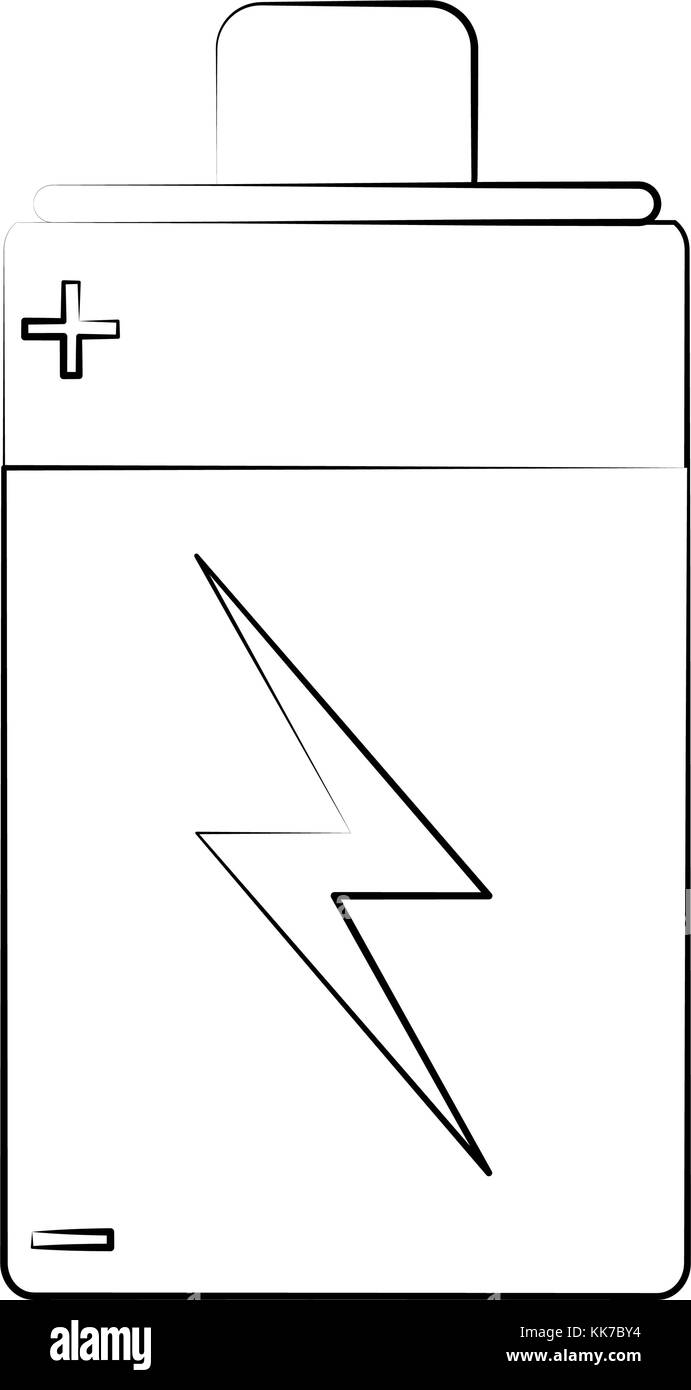 battery rechargeable symbol - Stock Image
