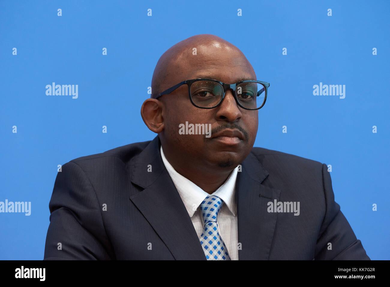Berlin, Germany, Sabelo Gumedze, UN Working Group on People of African Descent - Stock Image