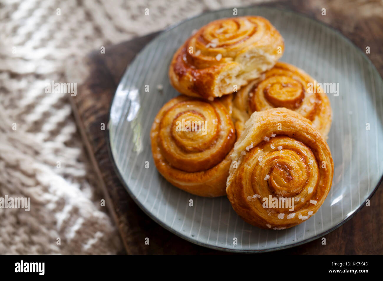 Danish pastries - Stock Image