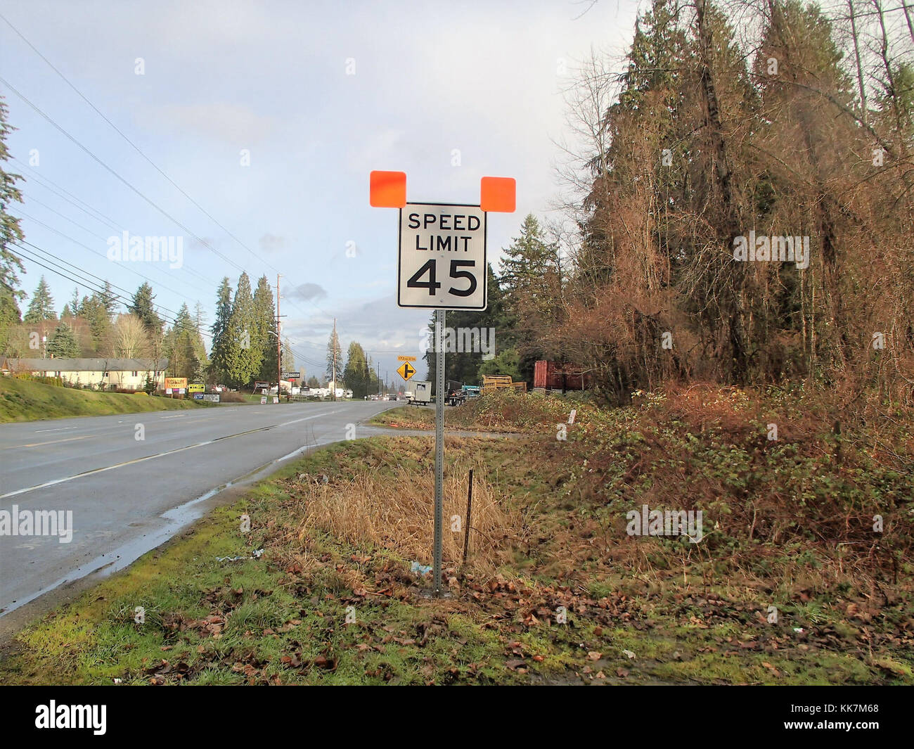 A new speed limit is in place on SR 9 in Clearview. This change comes following a traffic study conducted by WSDOT - Stock Image