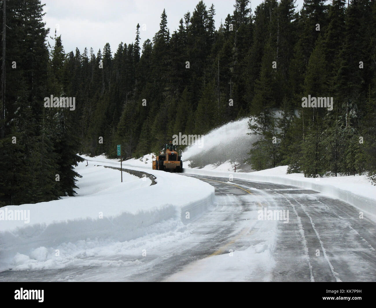 Each season, when clearing SR 20/North Cascades Highway, between