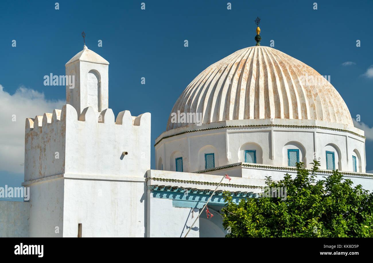 White Mosque in Medina of Kairouan. A UNESCO world heritage site in Tunisia - Stock Image