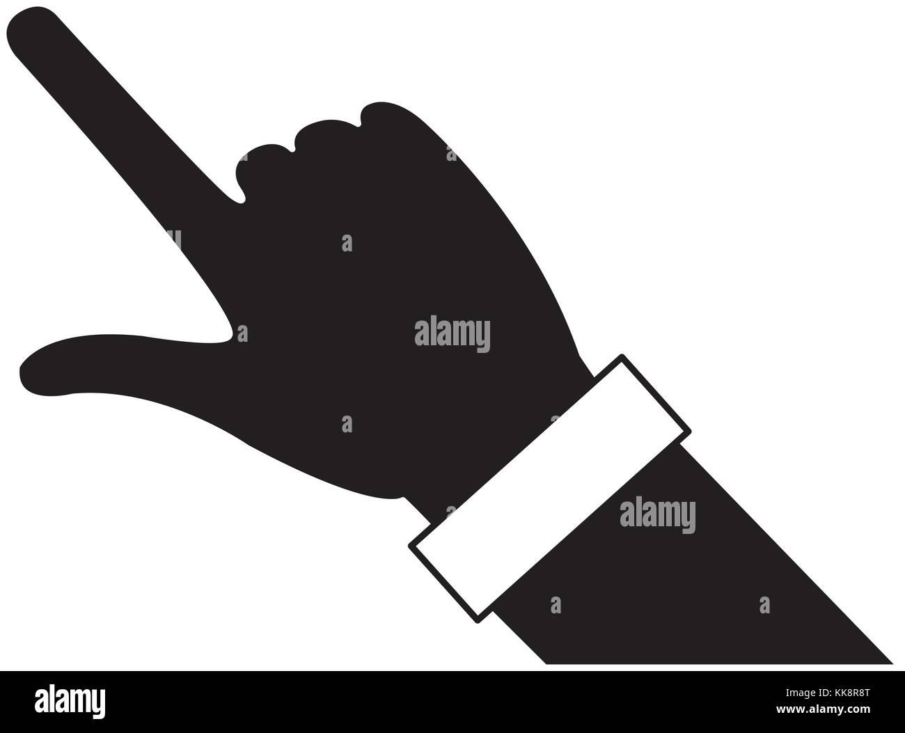 Human hand design - Stock Vector