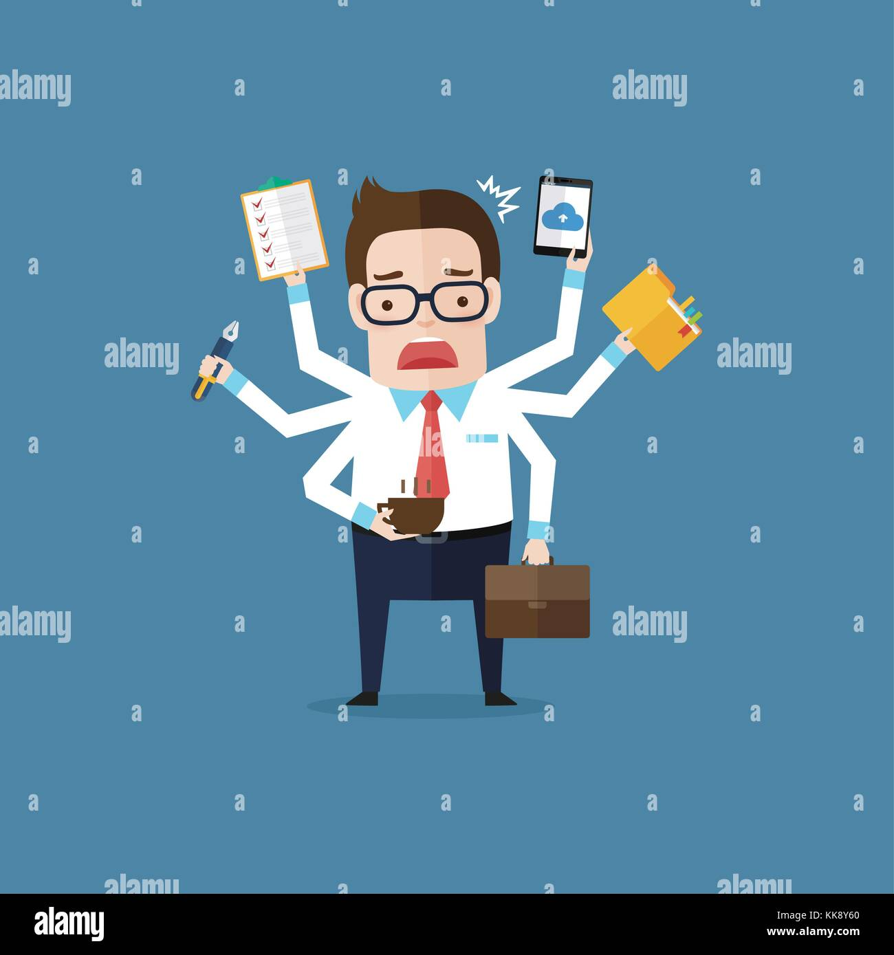 Business Man 22 - Stock Vector