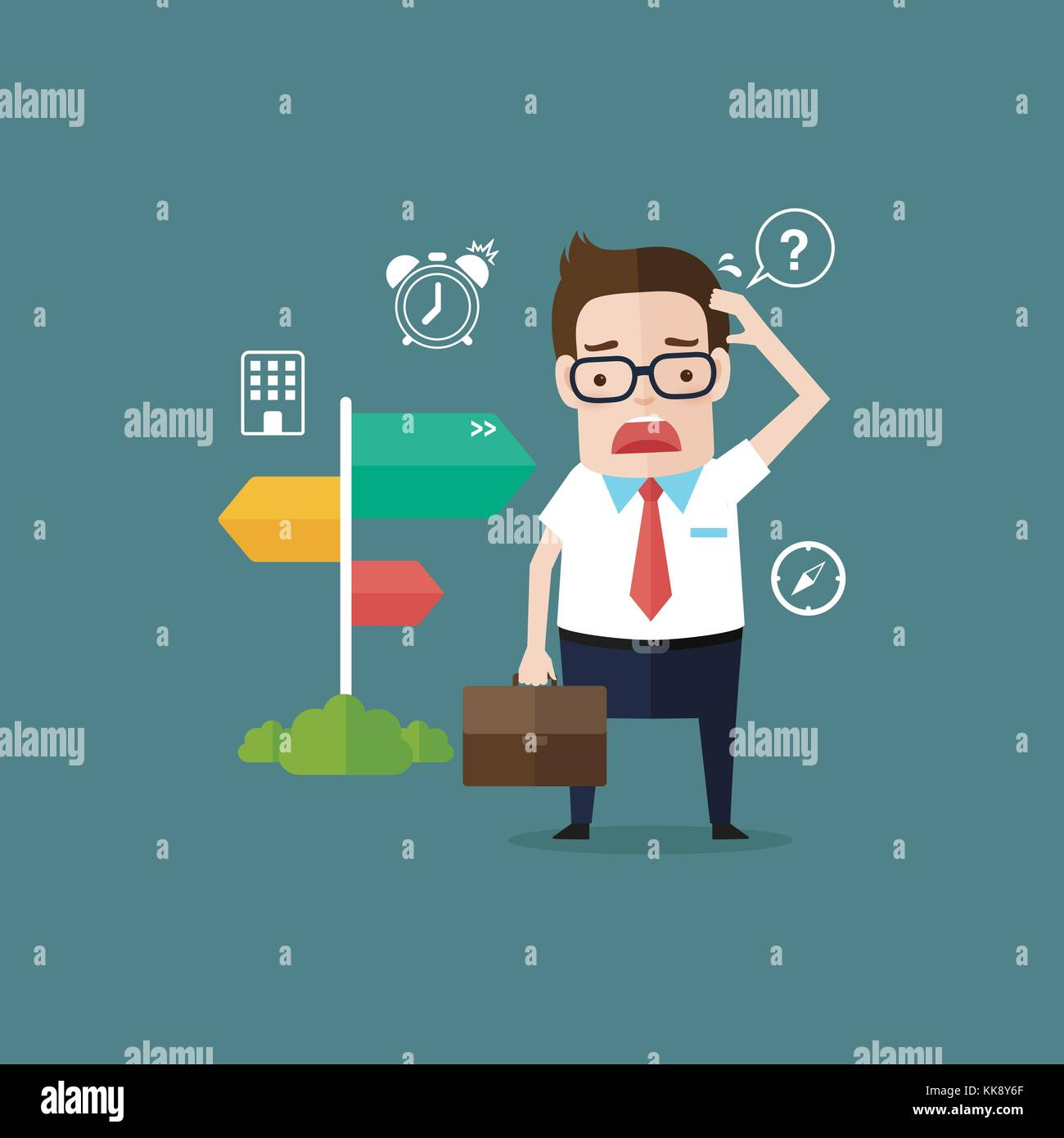 Business Man 16 - Stock Vector