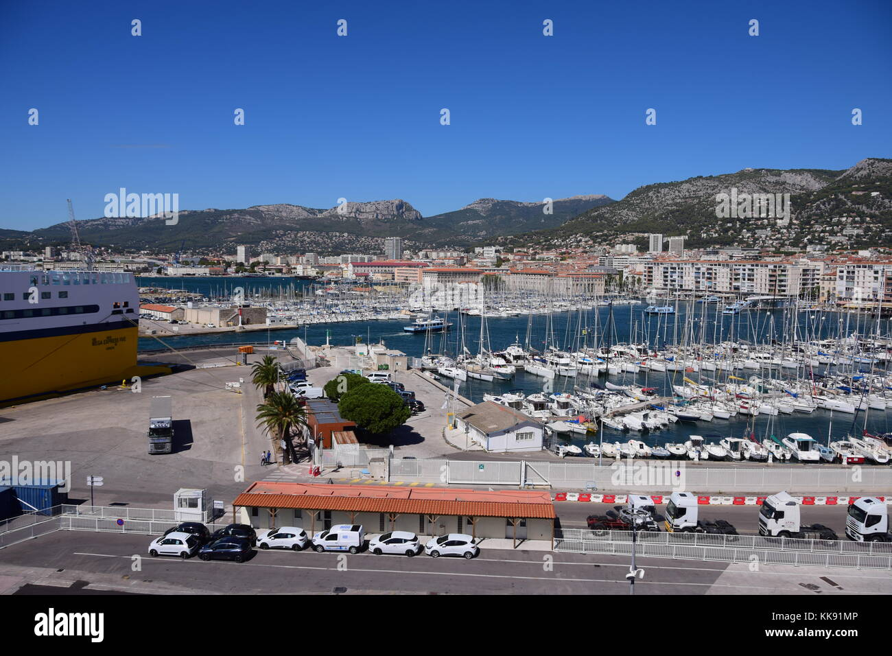 Corsica ferries stock photos corsica ferries stock images alamy - Port toulon corsica ferries ...
