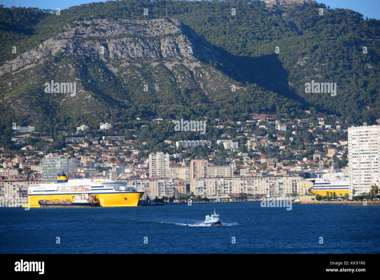 Corsica ferries and sardinia ferries stock photos corsica ferries and sardinia ferries stock - Port toulon corsica ferries ...