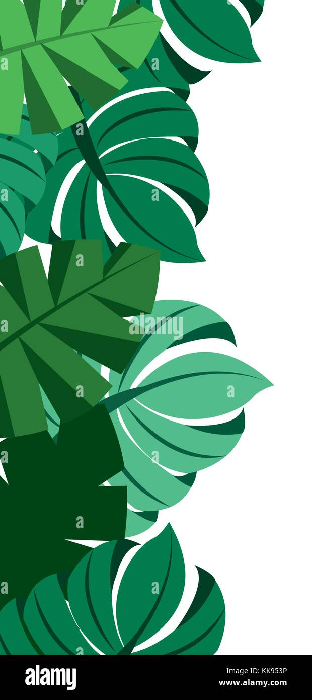 Tropical Leaves Palm Tree Border Decoration Stock Vector Image Art Alamy New users enjoy 60% off. https www alamy com stock image tropical leaves palm tree border decoration 166773370 html