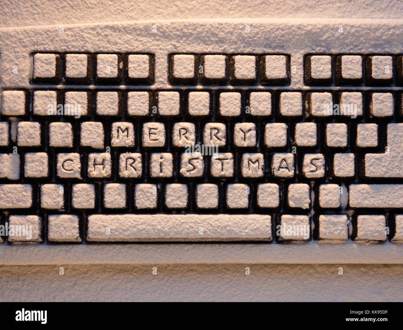 Christmas Keyboard Stock Photos Christmas Keyboard Stock Images