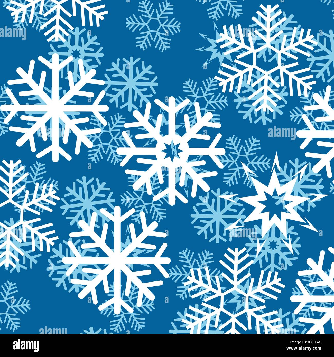 Background from snowflake Stock Vector