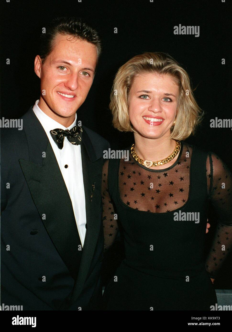 michael schumacher and his girlfriend corinna betsch got married on stock photo 166790403 alamy. Black Bedroom Furniture Sets. Home Design Ideas