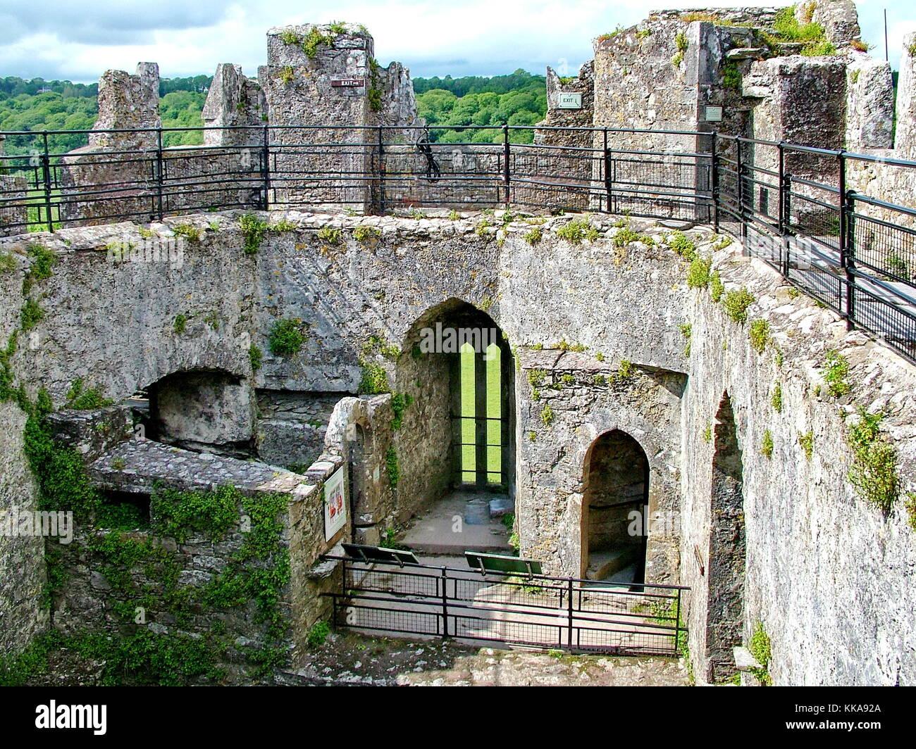 Blarney Castle, Co Cork, Ireland - Stock Image