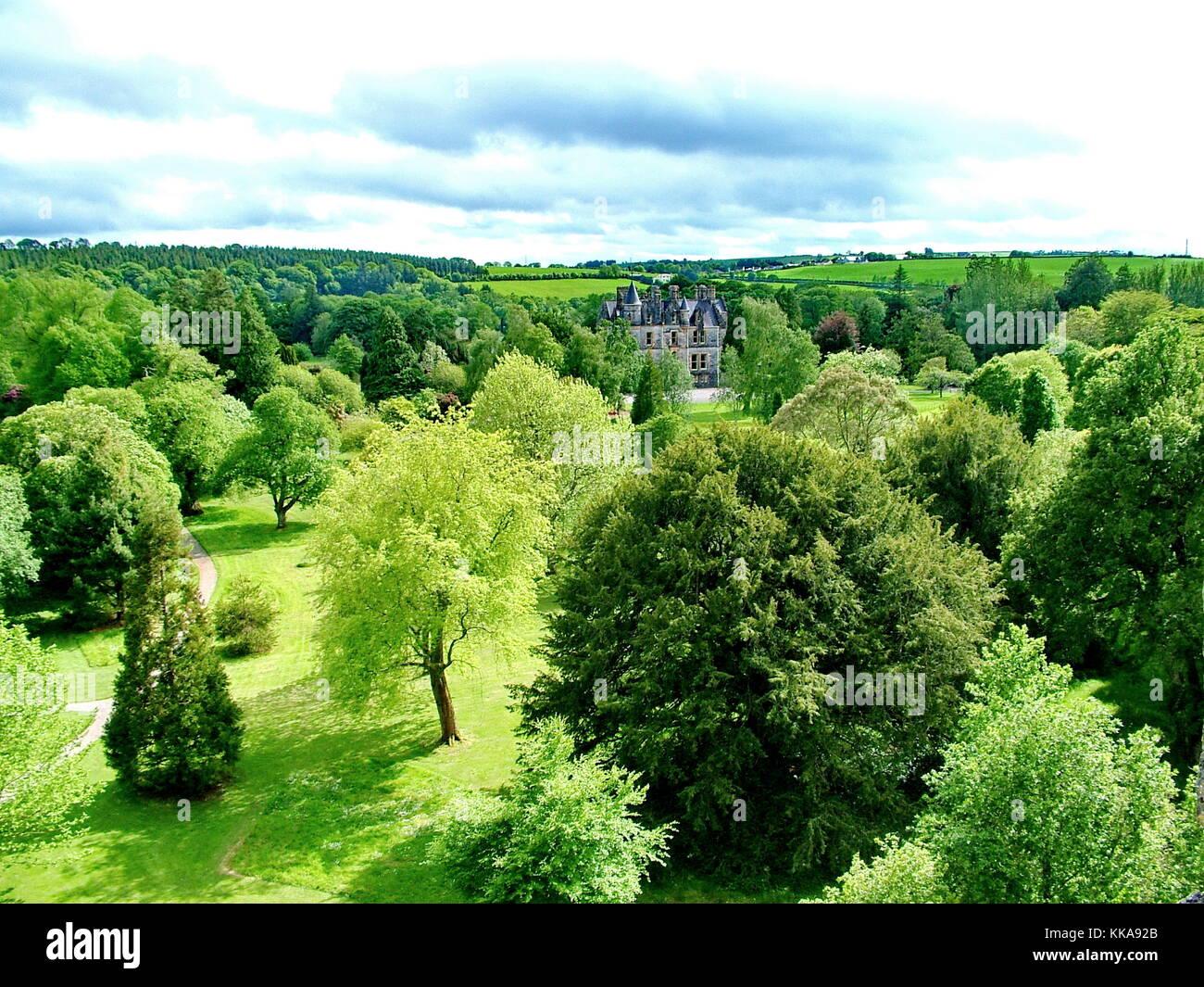 Blarney House near Blarney Castle, Co Cork, Ireland - Stock Image