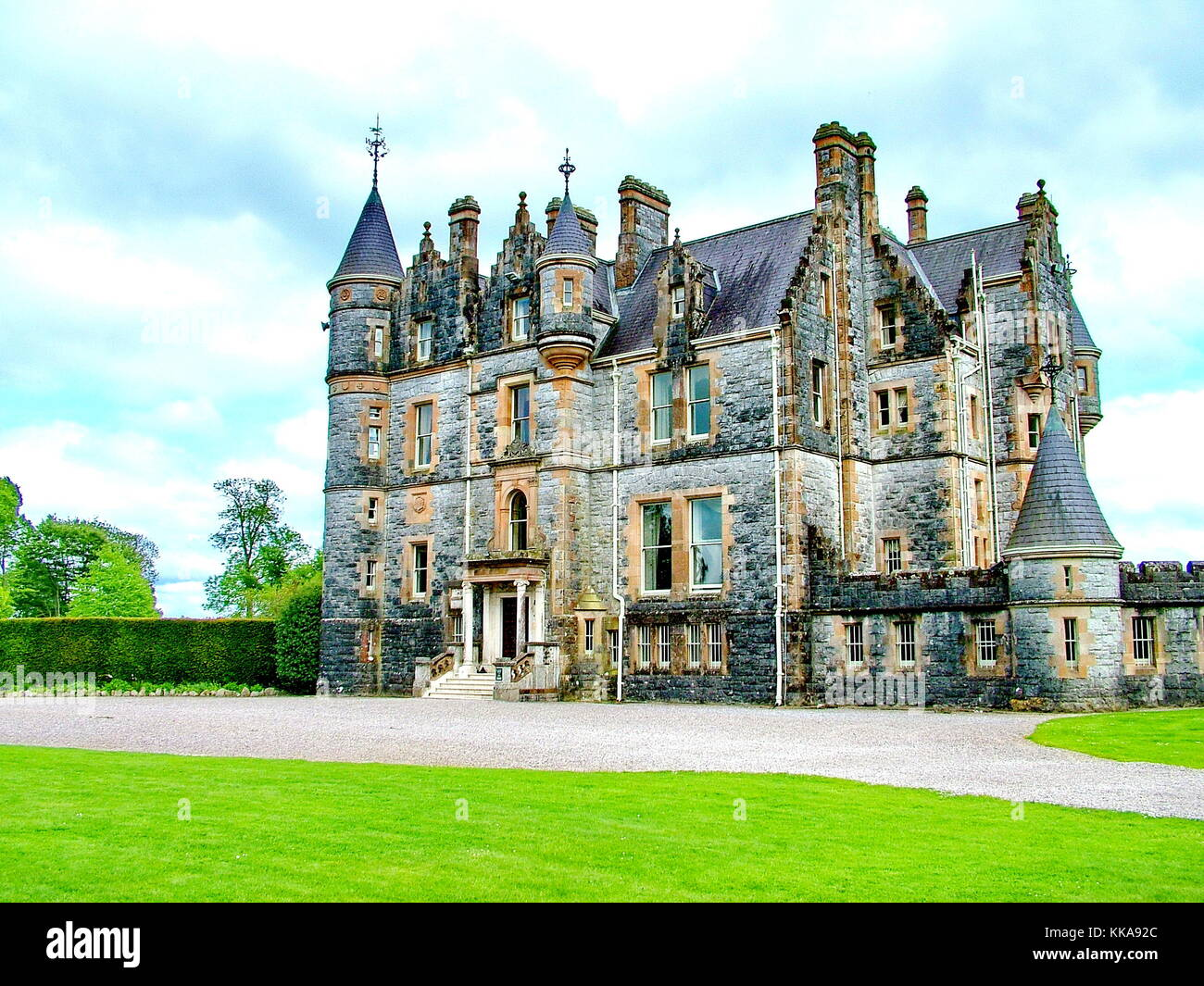Blarney House near Blarney Castle, Co Cork, Ireland - Stock Image