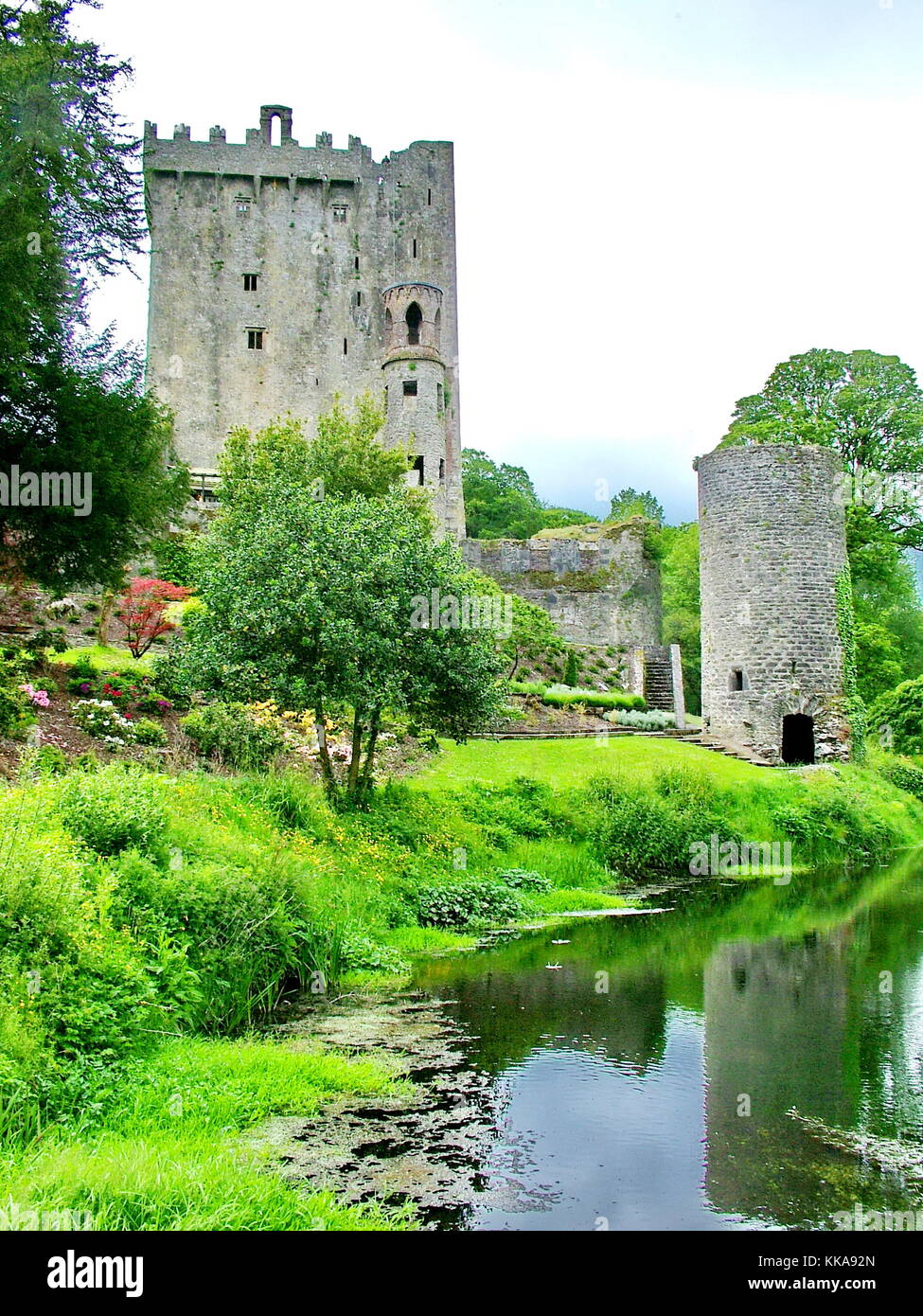 Blarney Castle near Cork, Ireland - Stock Image
