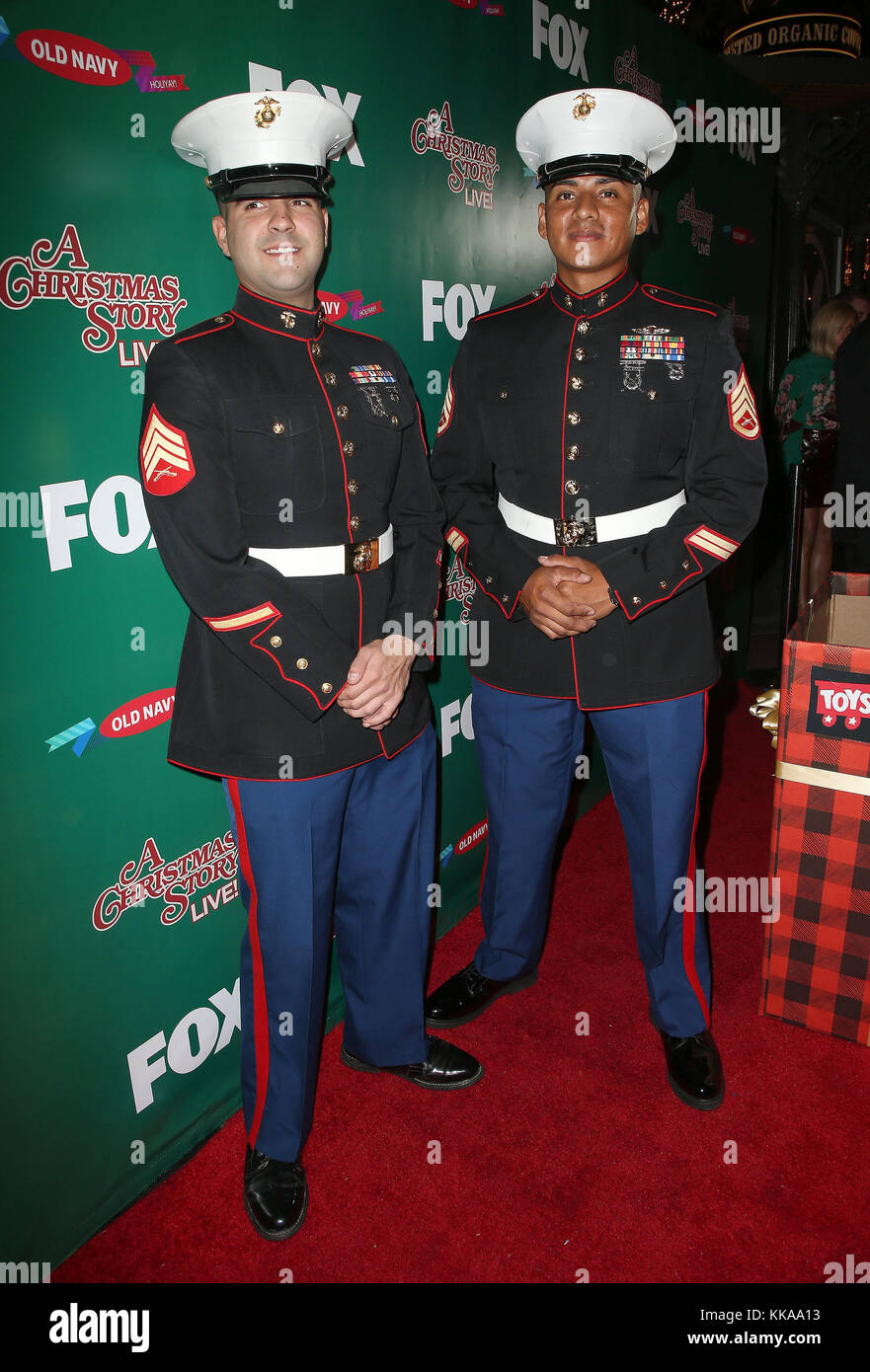 Los Angeles, California, USA. 24th Nov, 2017. 25 November 2017 - Los Angeles, California - Marines. FOX's ''A Christmas Stock Photo