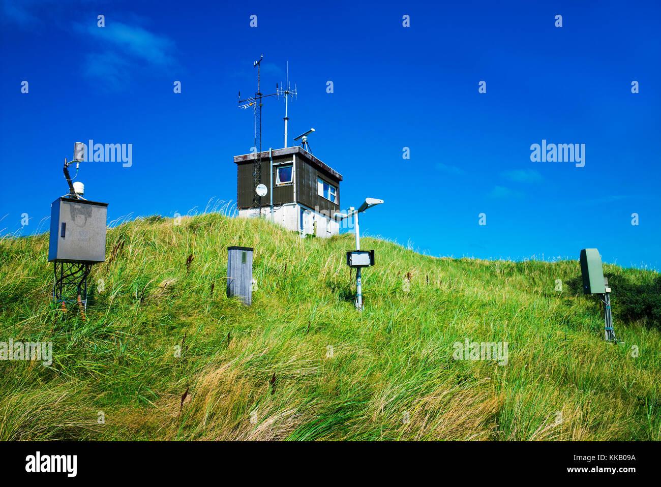 meteorological station Skagen denmark - Stock Image
